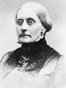 Susan B Anthony Nevertheless, she persisted.